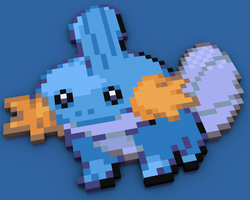 Mudkip by itsklicken