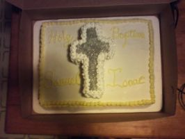 Baptism Cake by Robison300