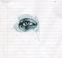 Eye sketch 2 by HellyMr