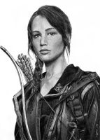 katniss everdeen by Mafin10