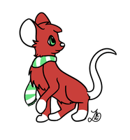 Holiday the Rat by myheartyoung