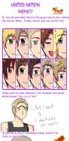 Hetalia United Nations meme by megibabe