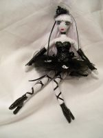 Kerli-black ballerina outfit by dollmaker88
