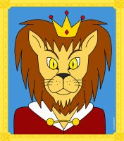 King Lionel, King of the Enchanted Forest by HoneyBatty16