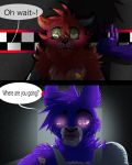 Where are you going, small fox?~ [withered fonnie] by Hiyoko-little-chick