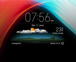 MIUI Flex HD for xwidget by jimking
