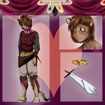 CCW: King Maik's new ref by EgyptianKitten