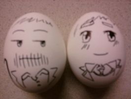 House and Wilson- Eggheads XD by Hiita-sama