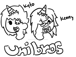 start of art trade maybe:unibros by ask-kytothehero