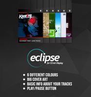 Eclipse Skin 1.0 for CD Art Display by LaunchLook