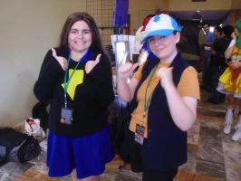 Chibi-Pa '12: Mabel and Dipper Pines by NaturesRose