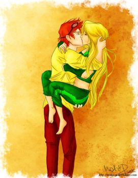 Bad romance - Young Justice by lumen-a