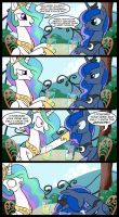 Celestia and Luna comic by liquidocelot96