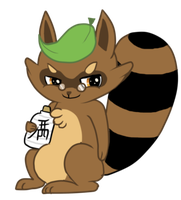 tanuki by lemon-sugars