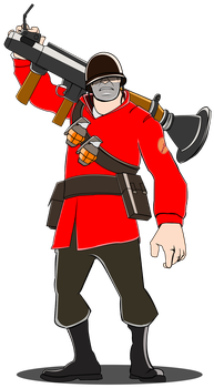 Soldier new design by trungtranhaitrung