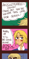 GOING TO SCHOOL - TALK. by TheGweny