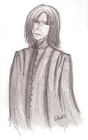 HP: Severus Snape by CrescentLove
