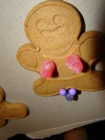 Dumb Gingerbread Man by stephuhnoids