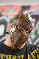 Piecemeal Leather Mask by OsborneArts