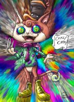 Crazy Catty by blue-hugo