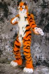 Lucky-Tiger Fursuit Photoshoot #12 by Mystic-Creatures