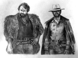Terence Hill - Bud Spencer by wanna21
