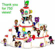 THANKS FOR 750 VIEWS by sugared-spice