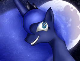Princess Luna - Art thou mad? by ScarletKnives-X