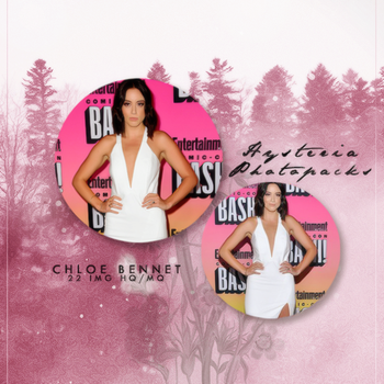 Photopack 571 // Chloe Bennet by HysteriaPhotopacks