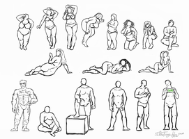 Big Boys and Big Girls: Anatomy by Zulema