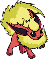136 - Flareon by Tails19950