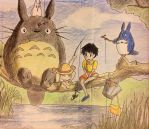 My Neighbour Totoro by LittleInferno95