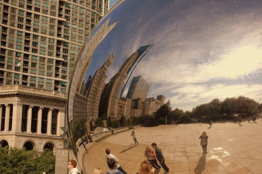 Cloud Gate, Chicago, Illinois by let-me-be-yours