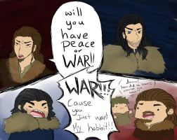 Thorin no ones going to take your hobbit by SeniorPotato