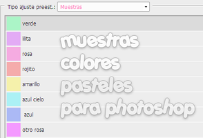 muestras colores pasteles by MINITUTOSSOFIA