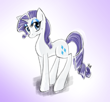 Rarity. Srs. by blup-chan