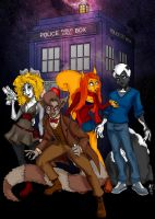 doctor who by oldxer