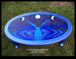 Drawing the Moon Table II by ReincarnationsDotCom