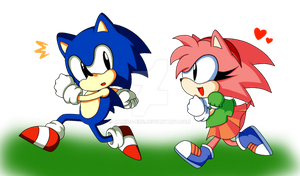 Sonic CD by Kamira-Exe