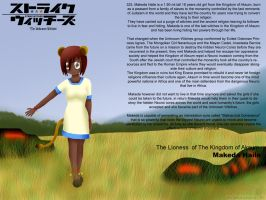 Makeda Haile: The Aksum Lioness by ThanyTony