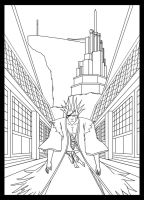 Kenpachi Comic - Cover Preview by MrChrizpy