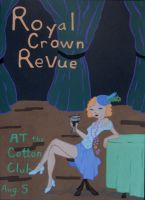 royal crown revue poster by hiddentalent1