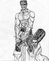 Frankenstein the Barbarian by theaven