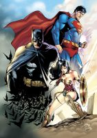 DC Trinity Color by morphews