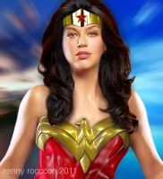 Adrianne Palicki Wonder Woman by renstar71
