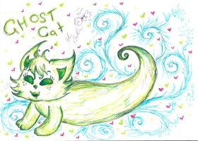 Ghost Cat 2 by Kittychan2005