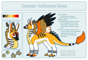 Quayzar Reference Sheet by Sludgy