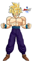 Gohan USSJ for AnimeJinMaster by Dairon11