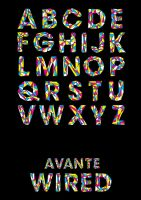 Avante Wired Typeface by MD3-Designs