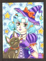 Halloween Witchy by Mystical-Kaba